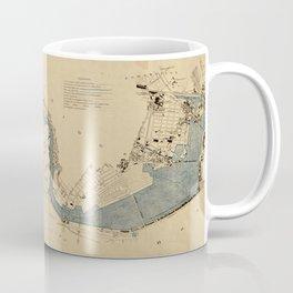 Vintage Map of The Charles River (1894) Coffee Mug