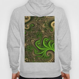 Fantasy World II, Abstract Fractal Art Hoody