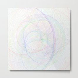 Zoomed Rings 3 Metal Print