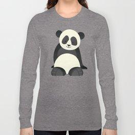 Whimsy Giant Panda Long Sleeve T-shirt