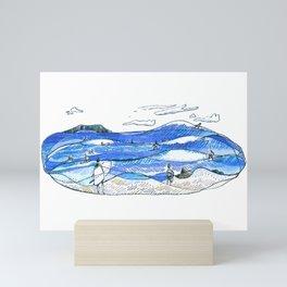 Party Wave Mini Art Print