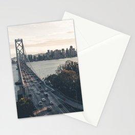 Bay Bridge - San Francisco, CA Stationery Cards