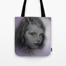 the little girl - vintage -1- Tote Bag