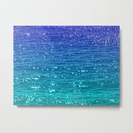 SEA SPARKLE Metal Print
