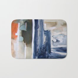 Landscape with Argonauts - Abstract 0025 Bath Mat
