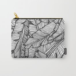 Black & White Jungle #society6 #decor #buyart Carry-All Pouch