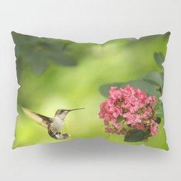 Hummer in Flight Pillow Sham