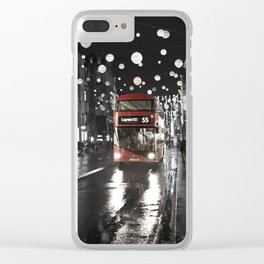London Oxford Street Clear iPhone Case
