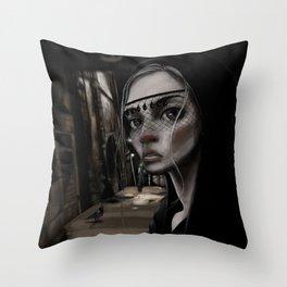 The Close Throw Pillow