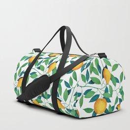 Lemon pattern II Duffle Bag