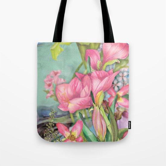 Macro Flower #21 Tote Bag