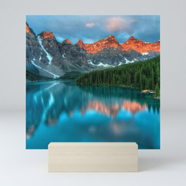 Canada Photography - Banff National Park In The Evening Mini Art Print