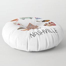 Nashville Floor Pillow
