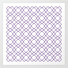 Graphic Art Pattern-P1-C4 Art Print
