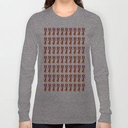Colorful Angel Illustration Pattern Long Sleeve T-shirt