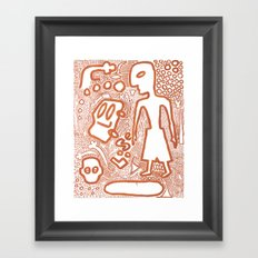 Loose Framed Art Print