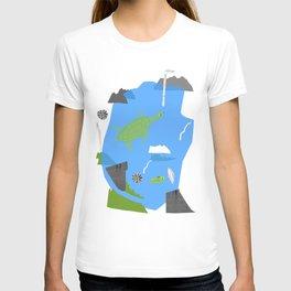 Turtle pond T-shirt