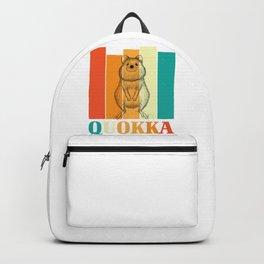 Quokka Animal Backpack