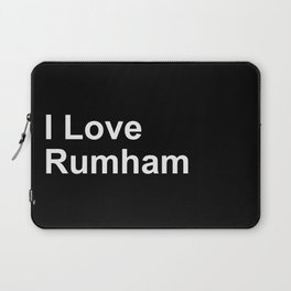 I Love Rumham Laptop Sleeve