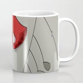 Atomic Mobile in Grey Coffee Mug