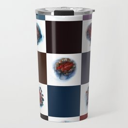 Rose City Monster's Nipple Quilt Travel Mug