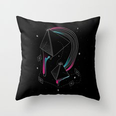 In Deep Space Throw Pillow