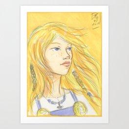Solveig Art Print