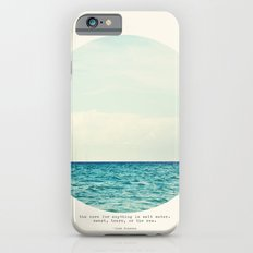 Salt Water Cure iPhone 6s Slim Case