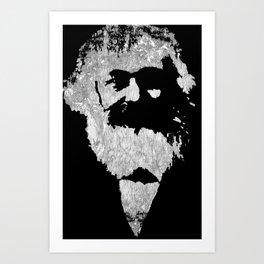 Karl Marx- Gone But Not Forgotten Art Print