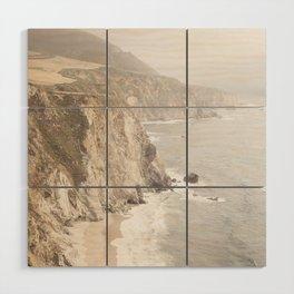 Big Sur California Wood Wall Art