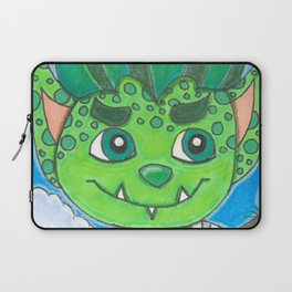 Young Goblin with stuffed dog Laptop Sleeve