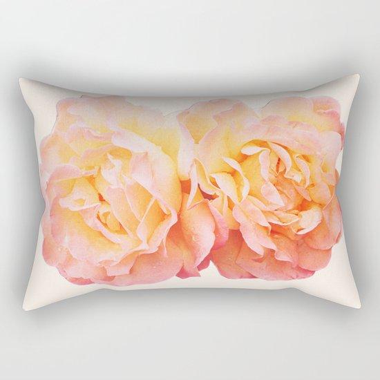 peachy keen Rectangular Pillow