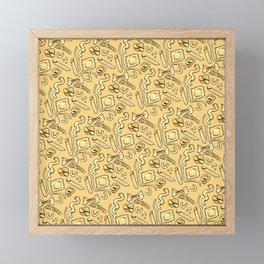 Pasta Skin Framed Mini Art Print