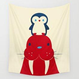 Penguin & Walrus Wall Tapestry