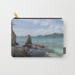 Caribbean Beach Photograph Carry-All Pouch