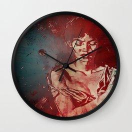 Joanna: Walking Away Wall Clock