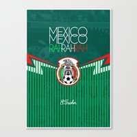 mexico Canvas Prints featuring Mexico by liamhohoho