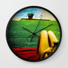 La piscine Wall Clock