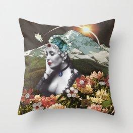 Moon Memories  Throw Pillow