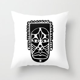 Faces of the faceless #1 Throw Pillow