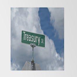 Treasury Street Throw Blanket