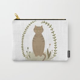 Nature Cat Carry-All Pouch