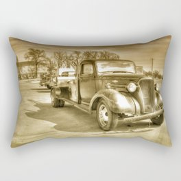 Chevitoned  Rectangular Pillow