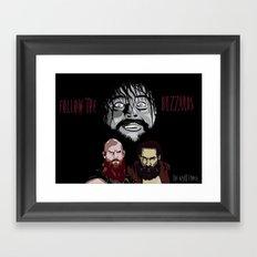 WWE - The Wyatt Family Framed Art Print