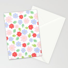 Cartoon Cosmos Stationery Cards
