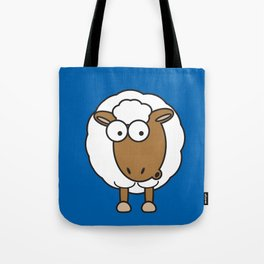 Ooh Zoo – farm-series, Sheep Tote Bag
