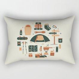 Thru Hiker Rectangular Pillow