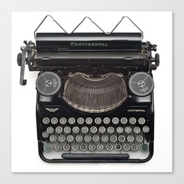 Continental Type writer Canvas Print