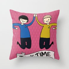 Trek Time Throw Pillow