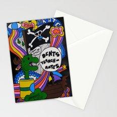 Dents Tranchantes Stationery Cards